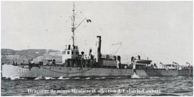 Photo dragueur de mines Meuliere
