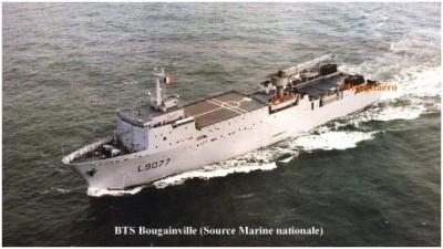 Photo BTS Bougainville