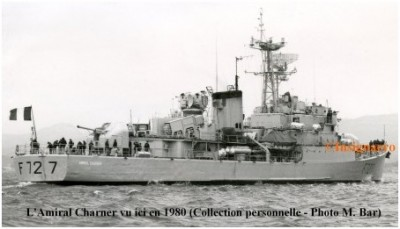 Photo aviso amiral Charner