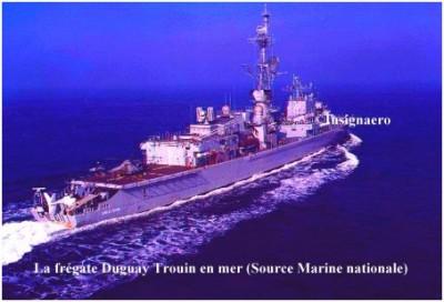 Photo fregate ASM Duguay Trouin