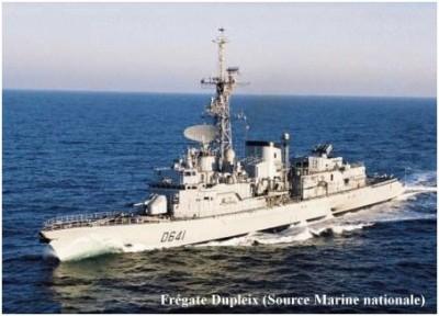 Photo fregate ASM Dupleix