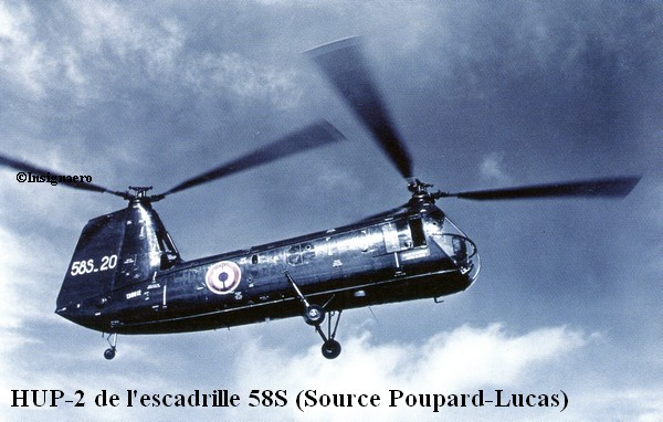 58S helicoptere HUP.2