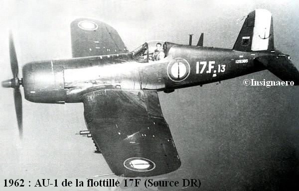 AU.1 de la 17F en 1962