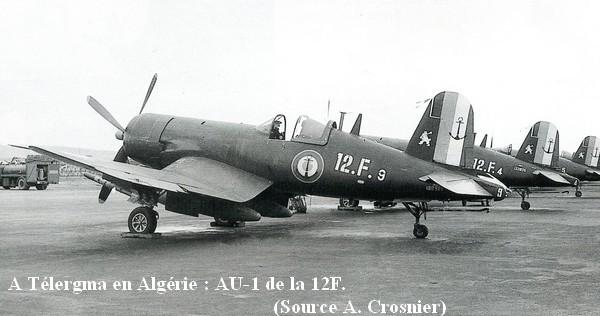 A Telergma en Algerie La 12F avec ses AU 1