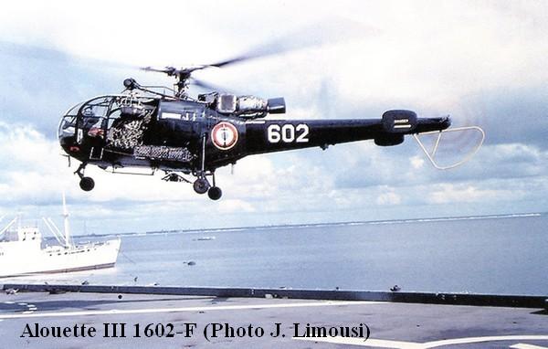 Alouette III 1602 F au Pacifique