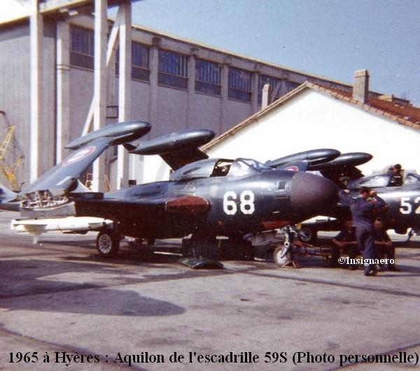 Aquilon n   68 de l escadrille 59S en 1964