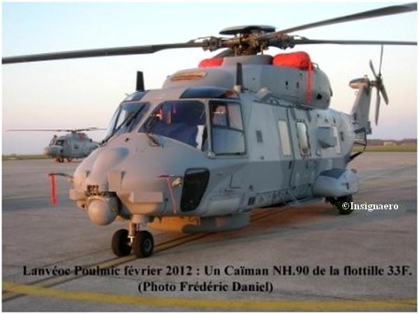 Caiman NH 90 de la flottille 33F a Lanveoc