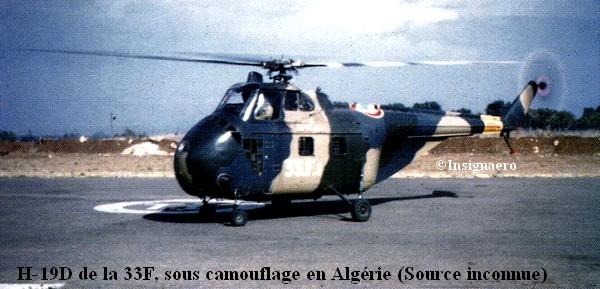 H.19D de la 33F en Algerie