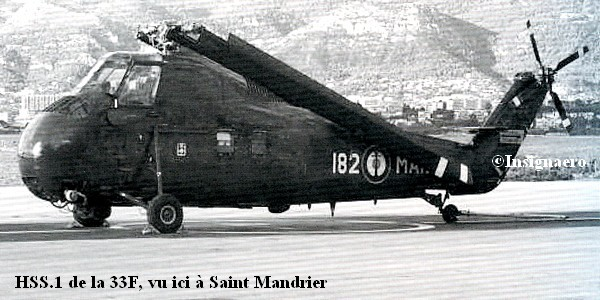 HSS.1 de la 33F vu ici a Saint Mandrier