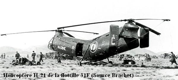 Helicoptere H.21 de la flottille 31F