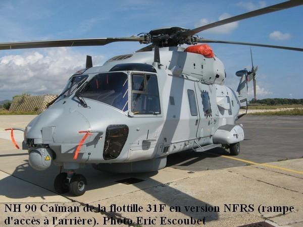 Helicoptere NH.90 de la 31F en version NFRS