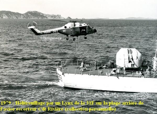 Helicoptere WG13 Lynx de la flottille 31F