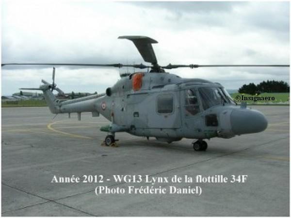 Lynx de la 34F a Lanveoc en 2012