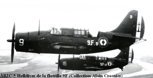 SB2C.5 Helldiver de la flottille 9F A1