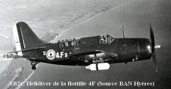 SB2C Helldiver de la 4F photo de  la BAN Hyeres
