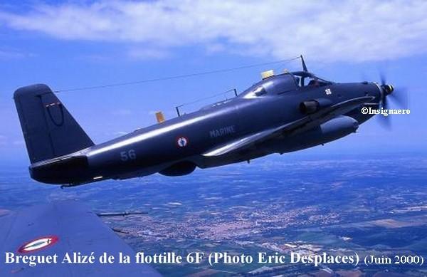 Un Alize de la 6F au dessus de Garons en juin 2000