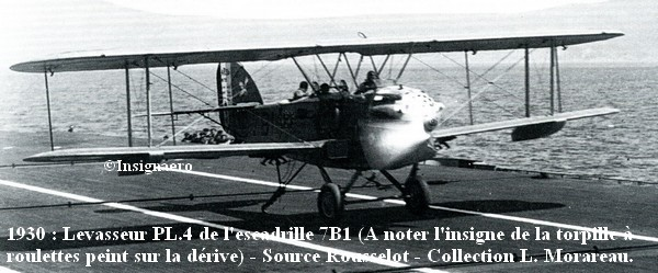 Levasseur PL.4 de l escadrille 7B1