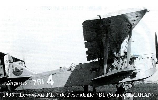 Levasseur PL.7 de l escadrille 7B1