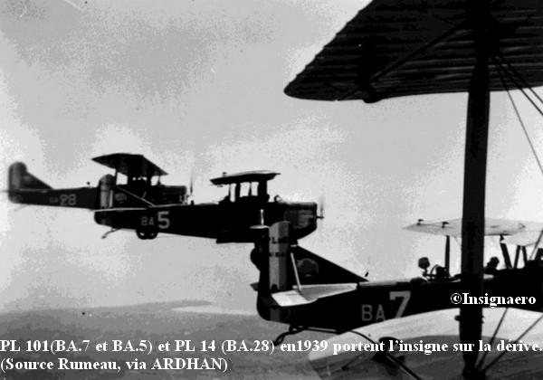 P.L 101 et PL.14 de la section entrainement du Bearn