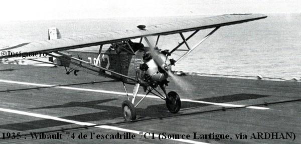 Wibault 74 de l escadrille 7C1