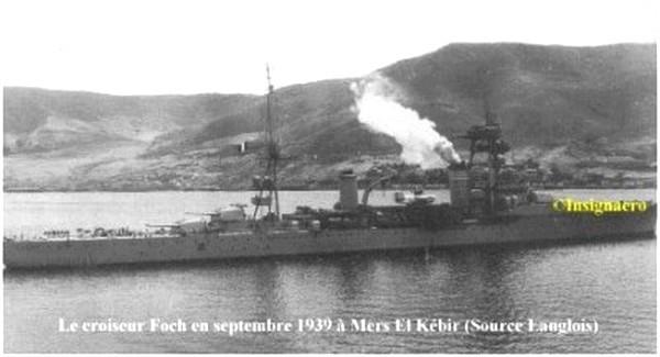 Croiseur Foch a MEK