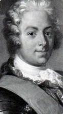 Portrait  de Rolland Michel Barrin de la Galissonniere