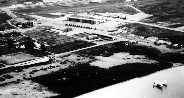 Vers 1956  vue de la BAN Port Lyautey
