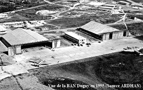Vue de la BAN Dugny