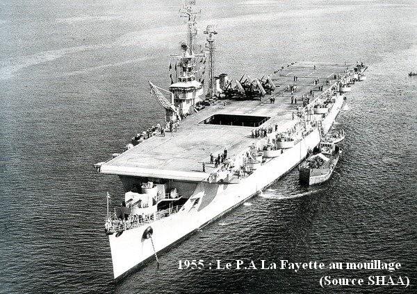 1955 le LAfayette au mouillage