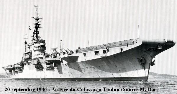 20.9.46 arrivee a Toulon
