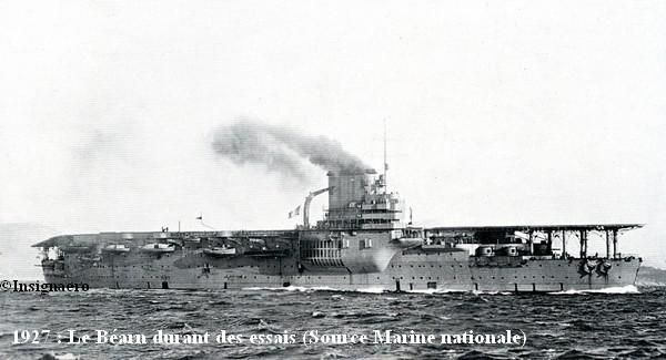 PA Bearn aux essais en 1927