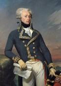 Portrait du marquis Gilbert de la Fayette