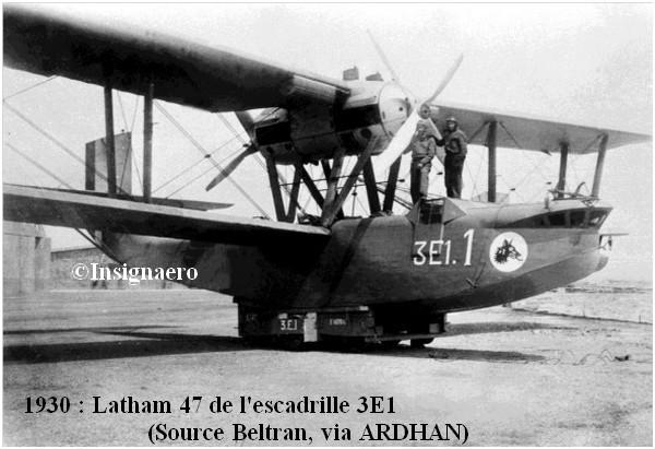 1930  Latham 47 de l escadrille 3E1
