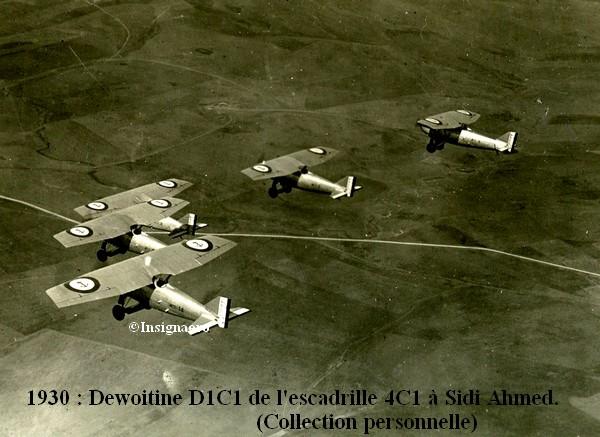 1930 a Sidi Ahmed  Dewoitine D1C1 de la 4C1