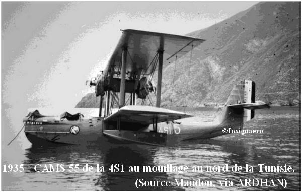 1935. CAMS 55 de l escadrille 4S1