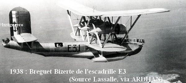 1938. Breguet Bizerte de l escadrille E3
