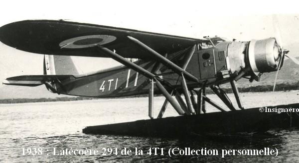 1938. Latecoere 294 de l escadrille 4T1