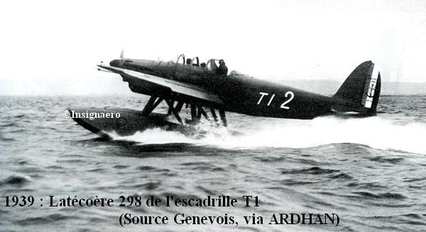 1939. Latecoere 298 de l escadrille T1