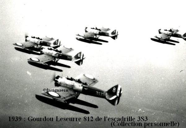 1939 Gourdou Leseurre 812 de l escadrille 3S3