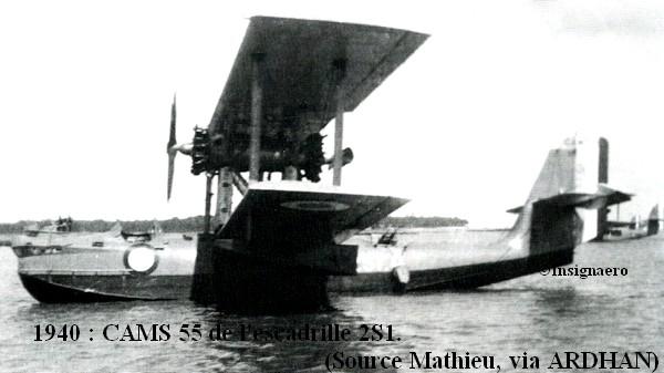 1940. CAMS 55 de l escadrille 2S1