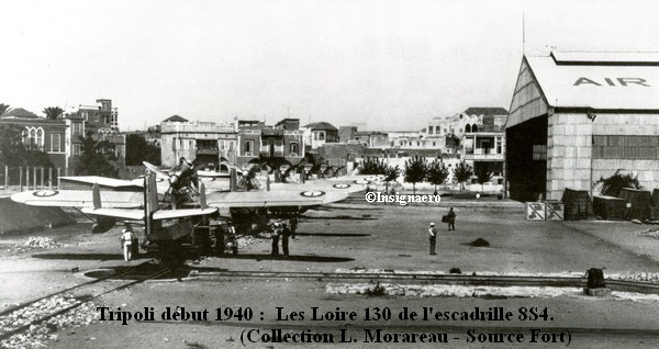 1940 a Tripoli. Loire 130 de l escadrille 8S4
