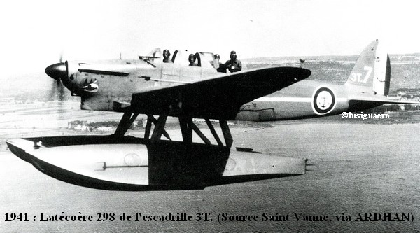 1941. Latecoere 298 de l escadrille 3T
