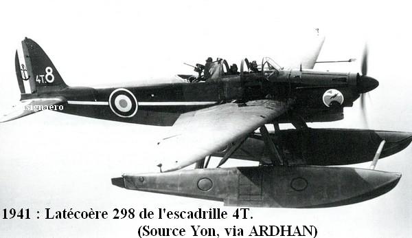 1941. Latecoere 298 de l escadrille 4T