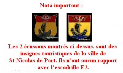 Attention pour l escadrille E2