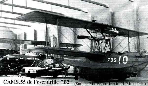CAMS 55 de l escadrille 7B2