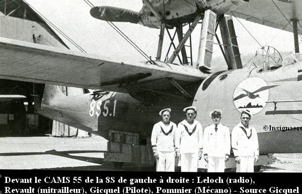 CAMS 55 de l escadrille 8S de Tahiti