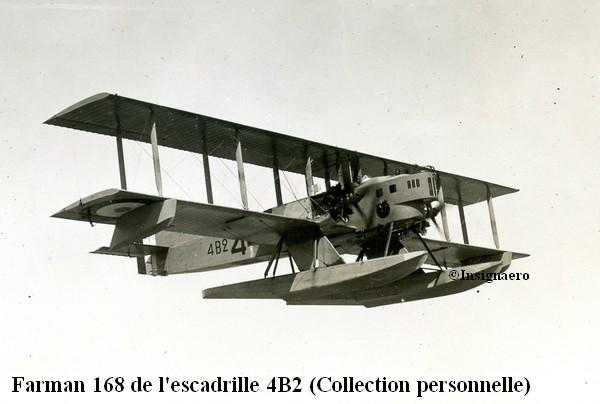 Farman Goliath F 168 de l escadrille 4B2