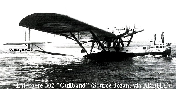 Latecoere 302 Guilbaud de la E4