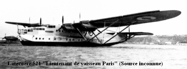 Latecoere 521 LV Paris de l escadrille E6