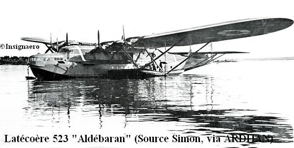 Latecoere 523 Aldebaran de l escadrille E6
